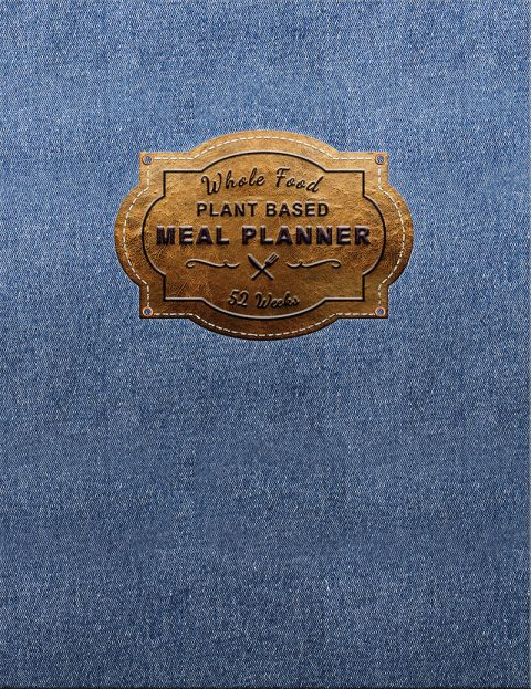 Book with Denim and Leather look cover