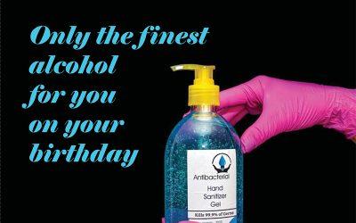 Isolation Birthday